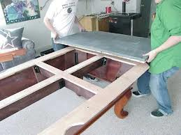 Billiard table moves in Sacramento California