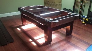 Correctly performing Billiard table installations, Sacramento California